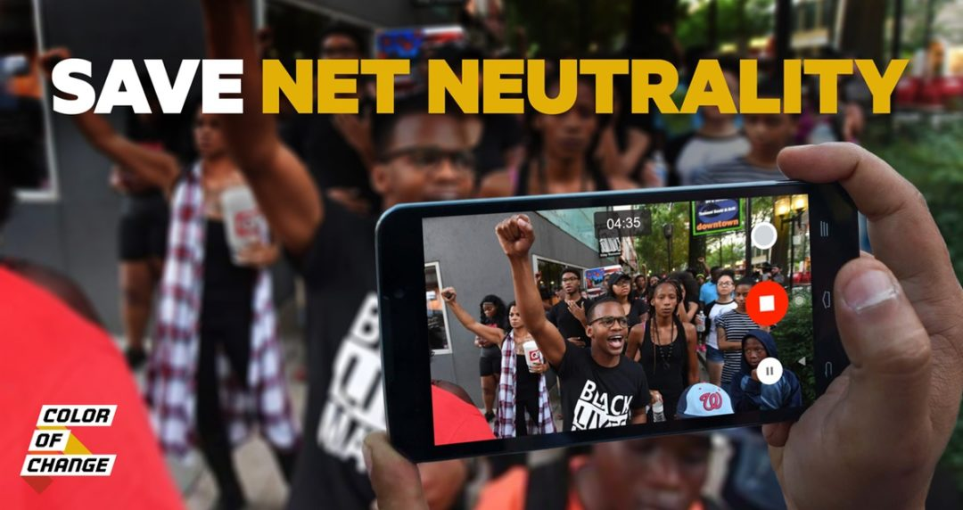 Pai's plan to dismantle neutrality is an attack on twenty-first century civil rights