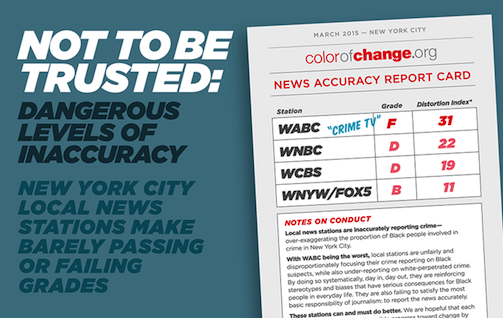 New Report: Dangerous Levels of Inaccuracy in TV Crime Reporting in